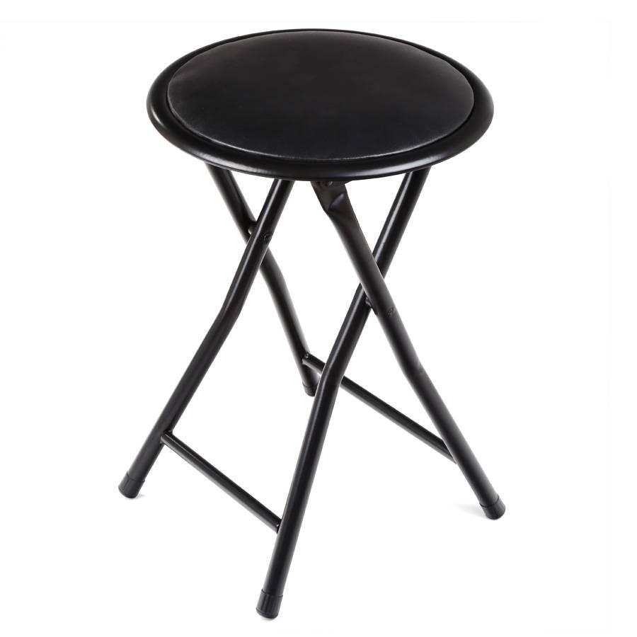 klapphocker sitzhocker hocker 45 cm aus stahl klappbar. Black Bedroom Furniture Sets. Home Design Ideas