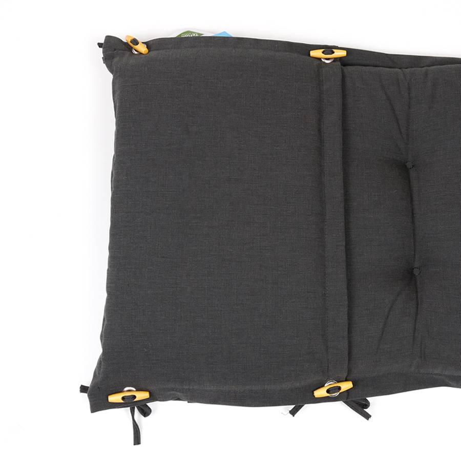 dralon teflon premium auflage f r deckchair 180 x 44 cm anthrazit dunkelgrau ebay. Black Bedroom Furniture Sets. Home Design Ideas