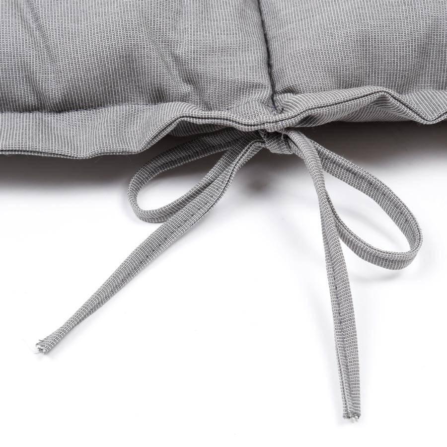 liegenauflage gartenliege gartenm bel auflage polster kissen hell grau 198x64cm ebay. Black Bedroom Furniture Sets. Home Design Ideas