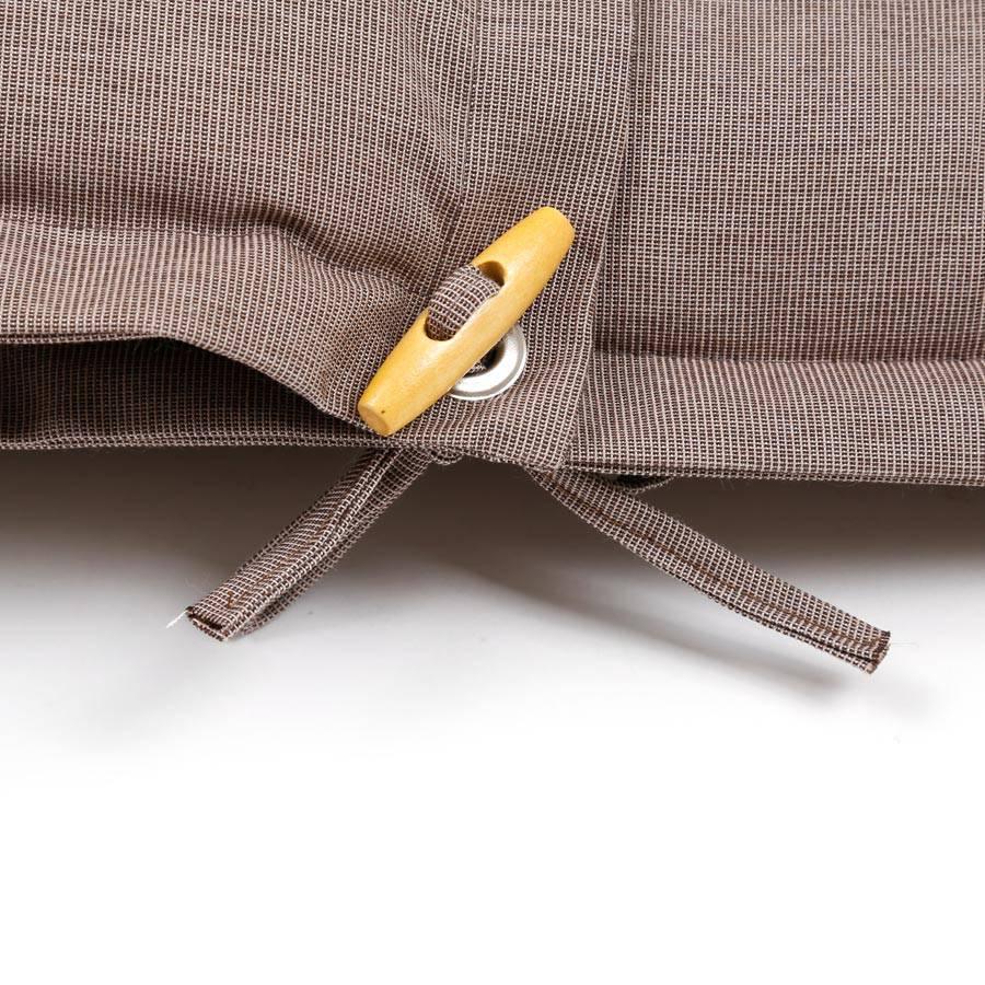 pl95 dralon teflon premium auflage f r liege 198 x 64 cm cappuccino. Black Bedroom Furniture Sets. Home Design Ideas