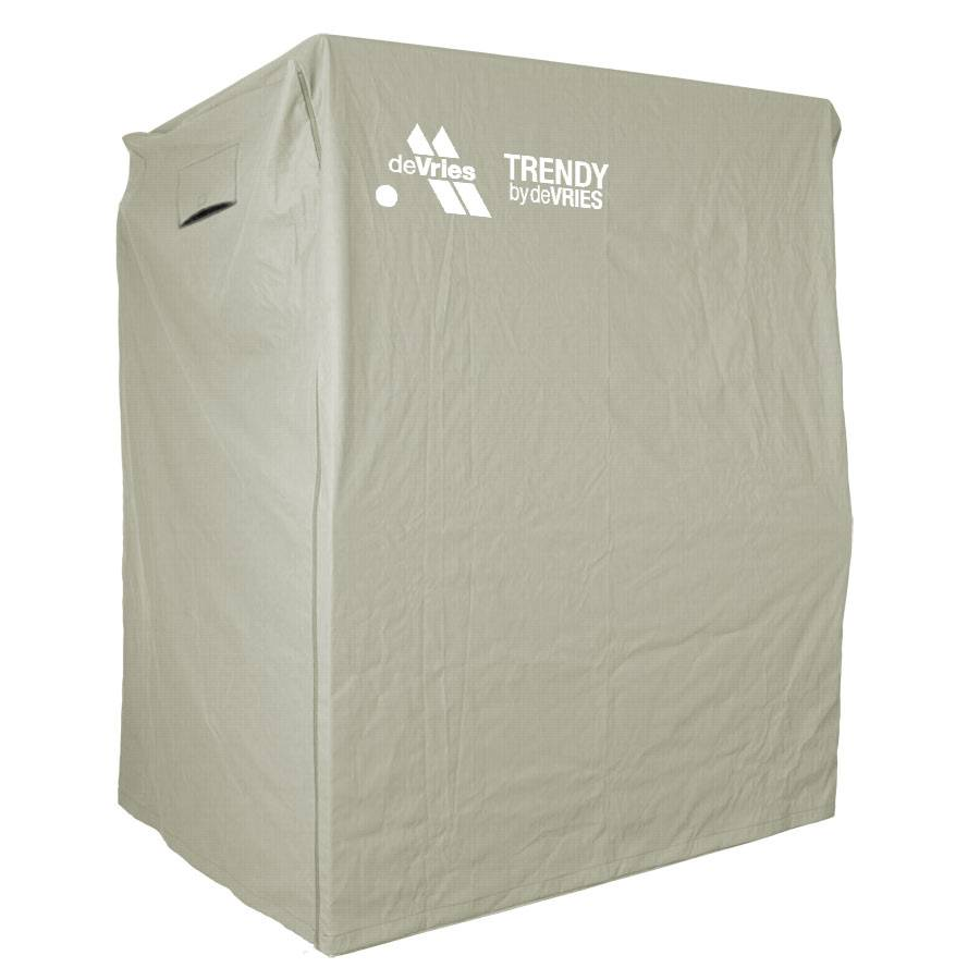 haube f r strandkorb ganzjahreshaube wetterschutz abdeckhaube lkw plane 135 cm ebay. Black Bedroom Furniture Sets. Home Design Ideas