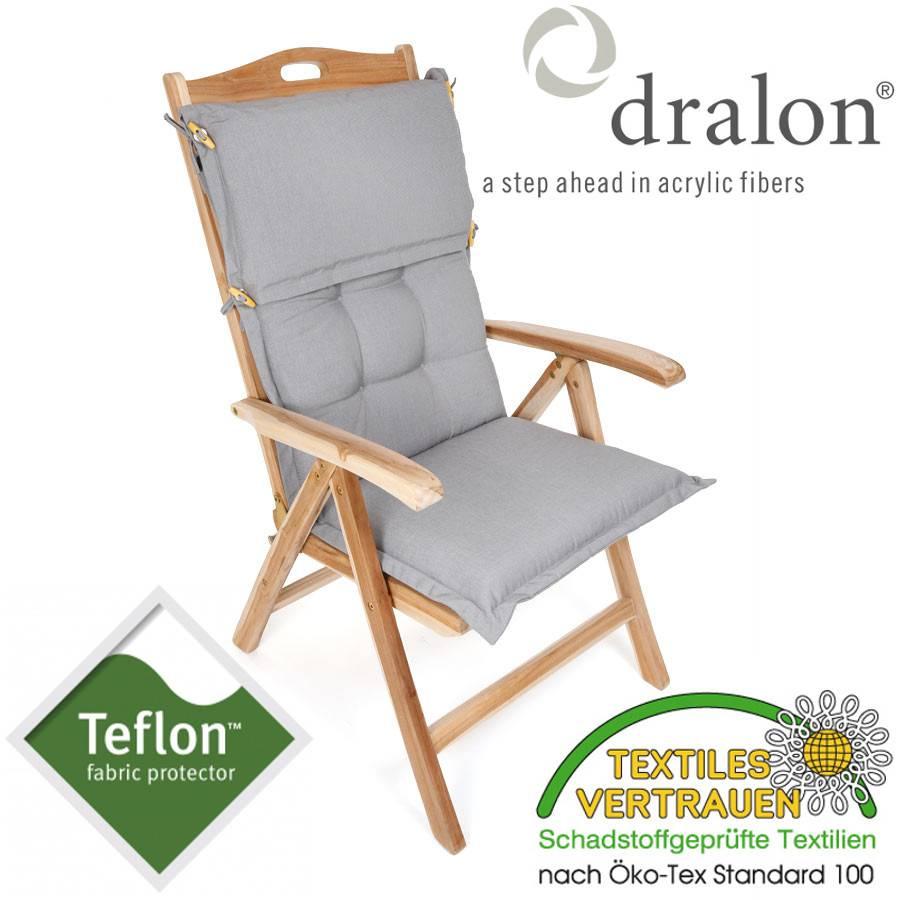 dralon teflon premium auflage hochlehner 110 x 50cm. Black Bedroom Furniture Sets. Home Design Ideas