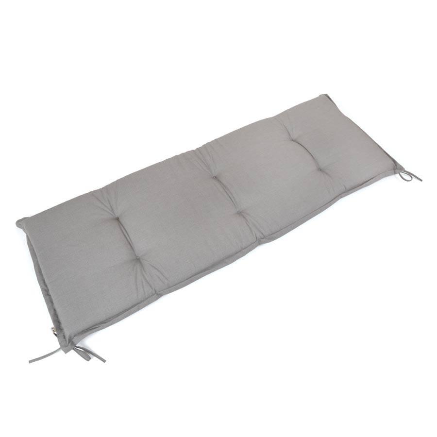 dralon teflon auflage f r gartenbank bankpolster 3 sitzer 150 x 50 cm hellgrau ebay. Black Bedroom Furniture Sets. Home Design Ideas