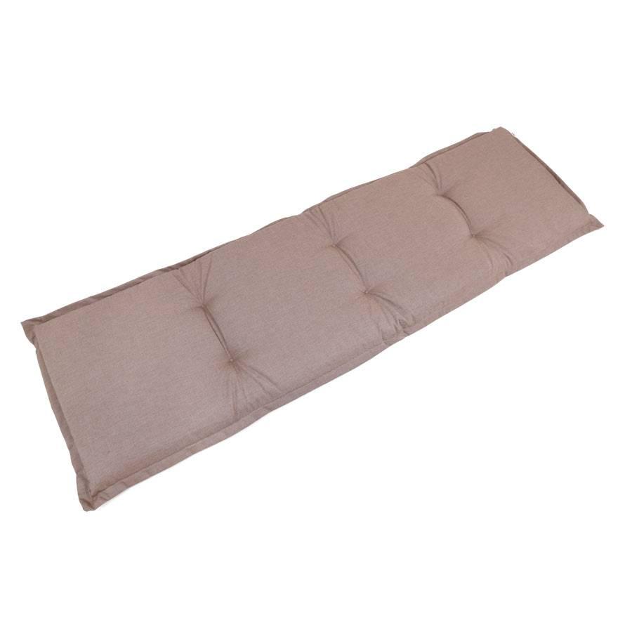 auflage f r 3 sitzer gartenbank gartenm bel polster 180x50cm sehr dick bequem ebay. Black Bedroom Furniture Sets. Home Design Ideas