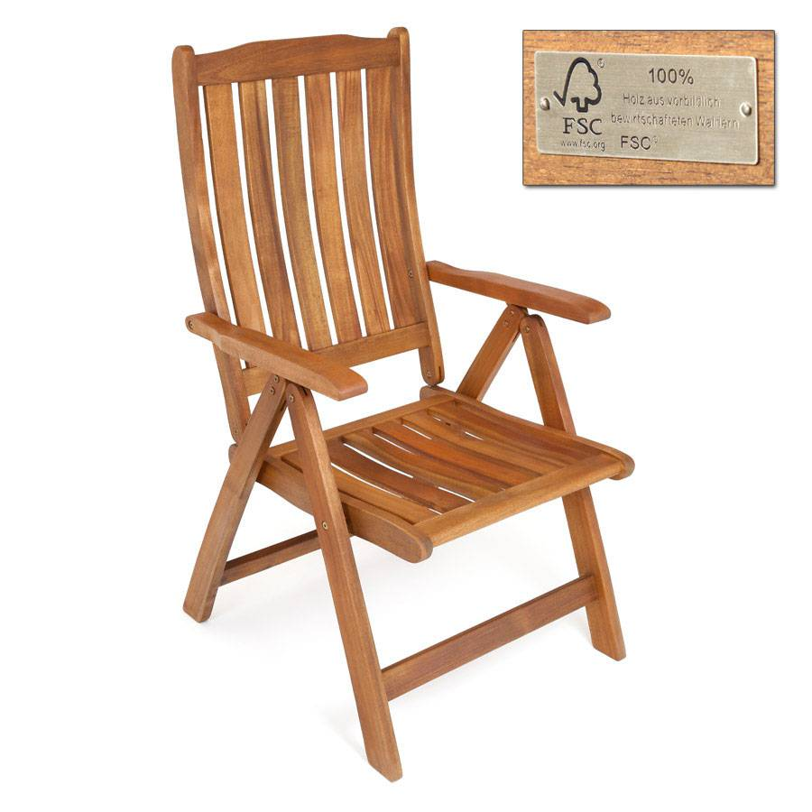 Ploss hochlehner stuhl halmstad akazie fsc 100 for Hochlehner stuhl