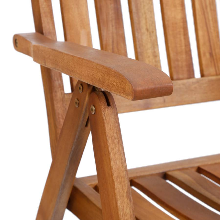 ploss hochlehner stuhl halmstad akazie holz fsc 100 gartenstuhl klappstuhl ebay. Black Bedroom Furniture Sets. Home Design Ideas