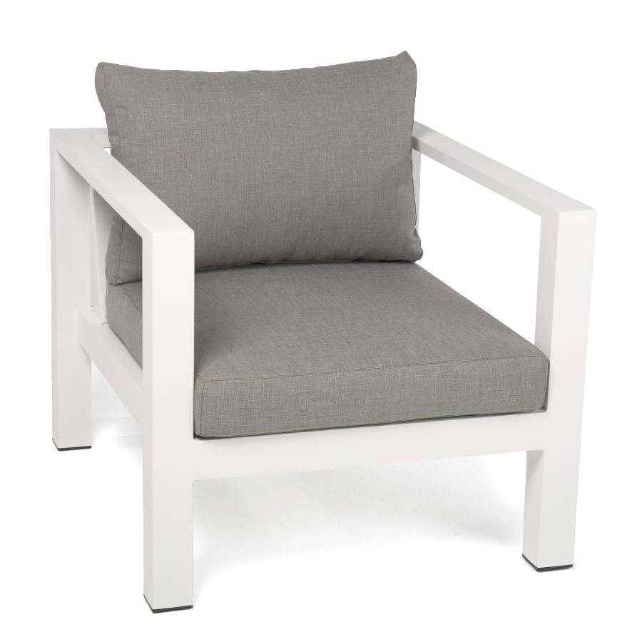 Loungesessel Weiss Outdoor