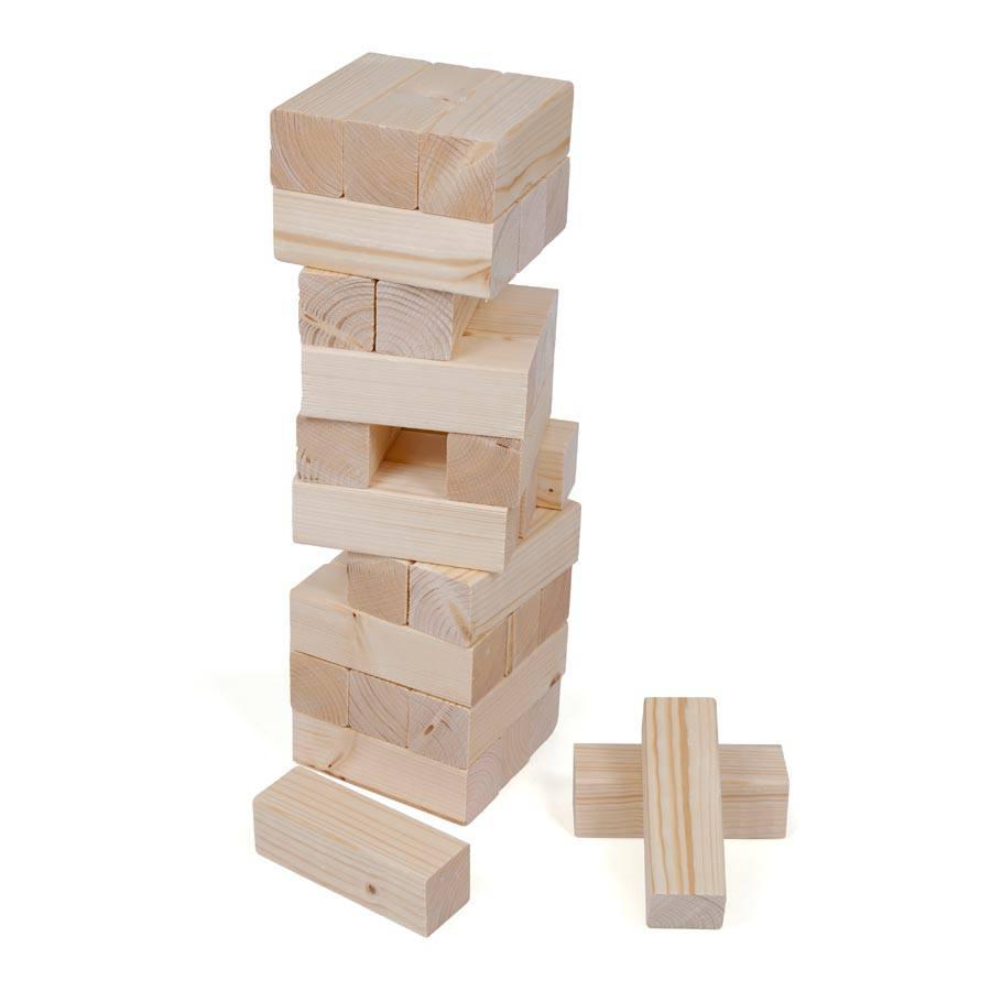 Holzklotz Spiel