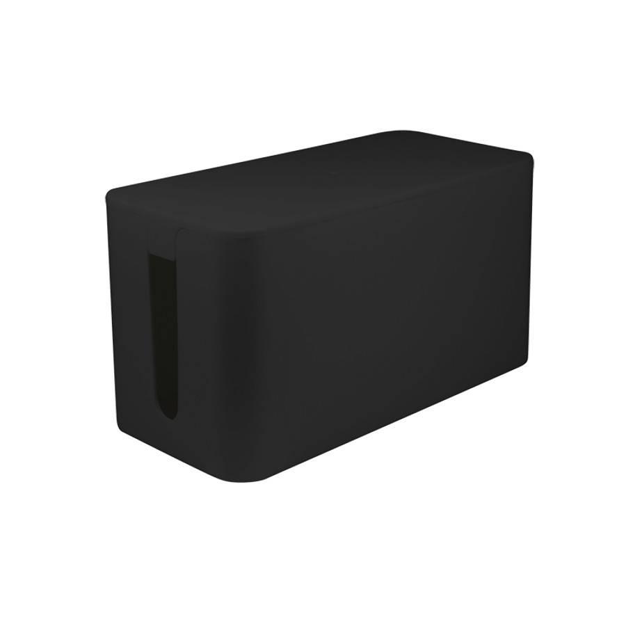 logilink kabelbox kabelmanager 23 5 x 11 5 x 12 0 cm schwarz. Black Bedroom Furniture Sets. Home Design Ideas