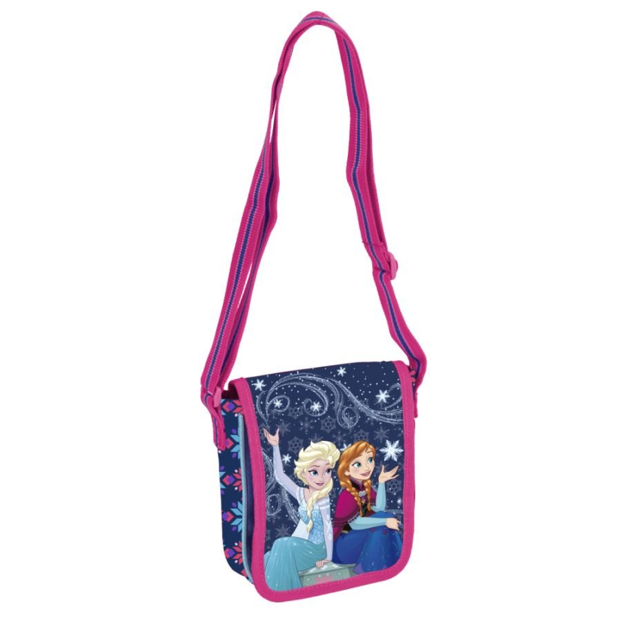 disney frozen die eisk nigin handtasche m dchen girlie handbag purse elsa anna ebay. Black Bedroom Furniture Sets. Home Design Ideas