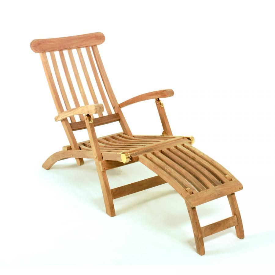 Liegestuhl Holz Mit Armlehne.Tl8008 Teak Liegestuhl Deckchair San Miguel Mit Armlehne