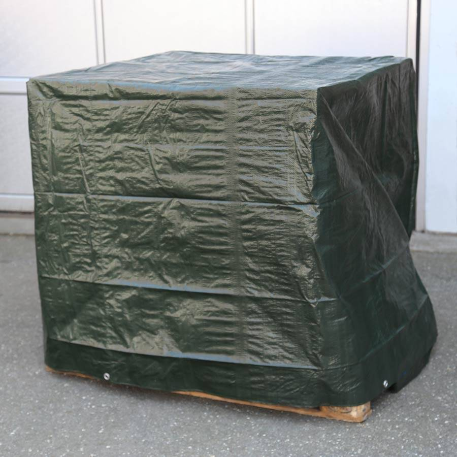 gewebeplane mit sen wasserdicht reissfest gartenm bel abdeckplane schutzplane ebay. Black Bedroom Furniture Sets. Home Design Ideas