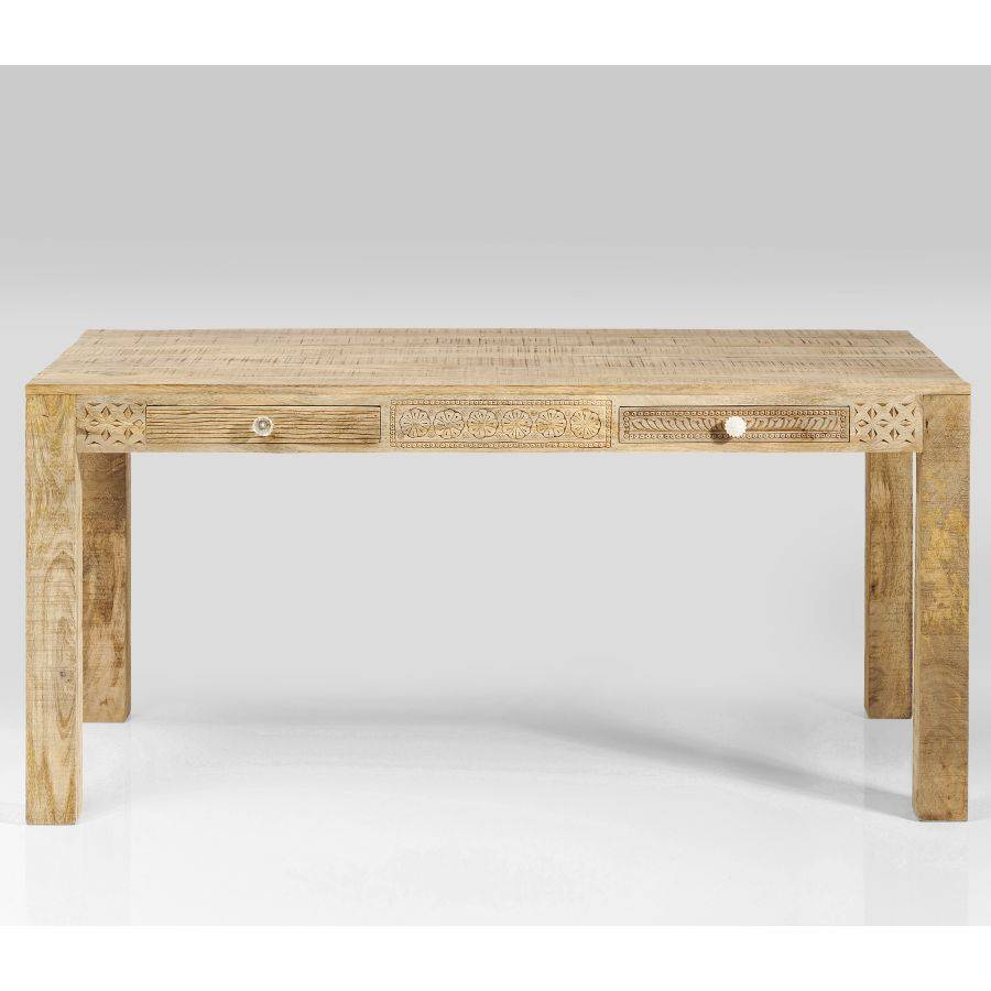 Küchentisch Holz: TISCH PURO PLAIN 160 X 80 CM KARE DESIGN MANGOHOLZ