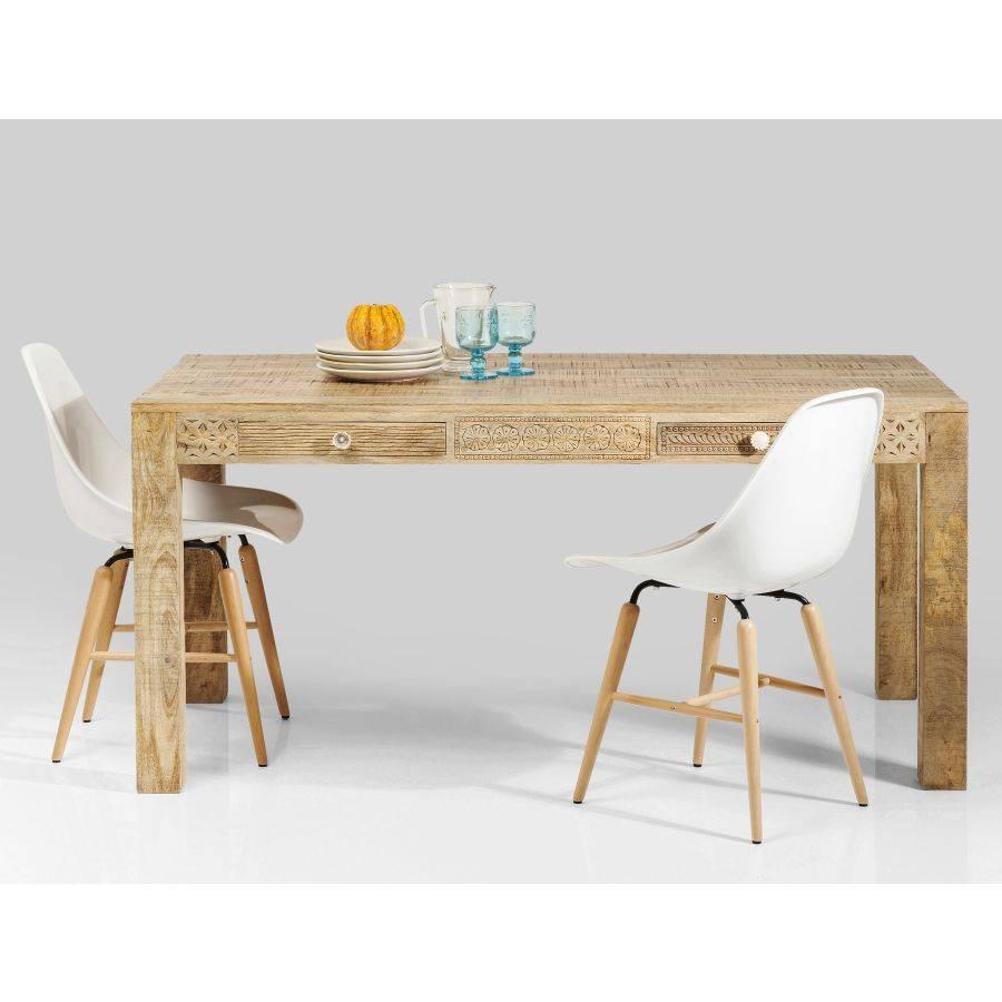 tisch puro plain 160 x 80 cm kare design. Black Bedroom Furniture Sets. Home Design Ideas