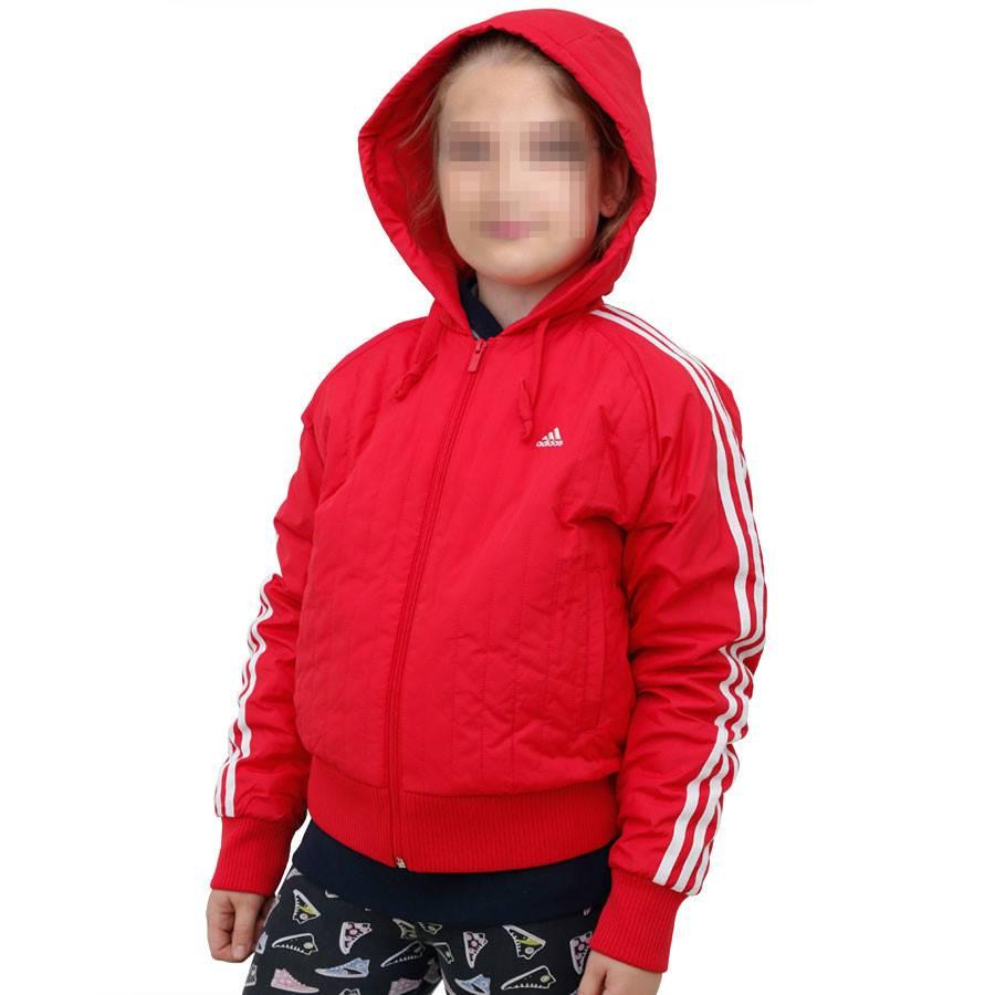 Retro Für S Jacke Mädchen Stylische Rot Adidas HI9WDYE2