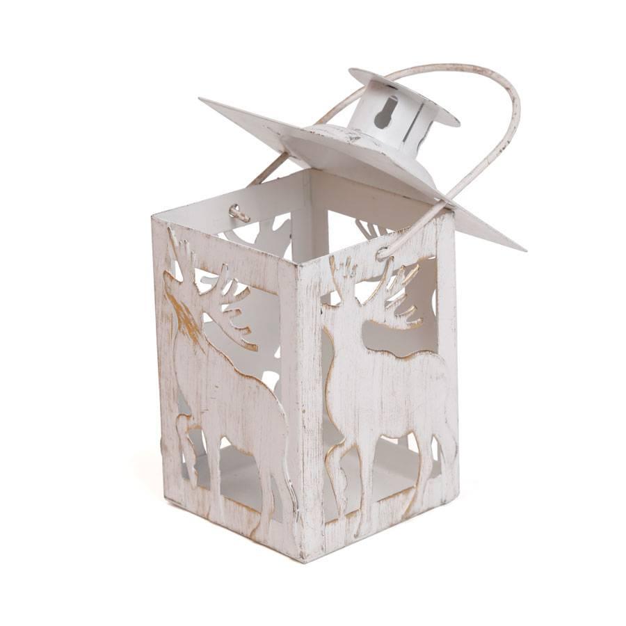 Weihnachten Dekoration Teelicht Laterne Aus Messing 7 X 11 Cm Mit