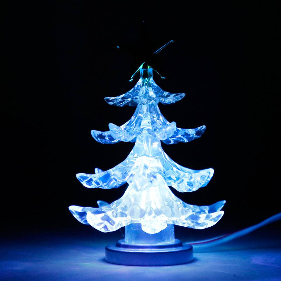 Usb weihnachtsbaum 4 farben wechsel led usb anschluss - Led baumspitze stern ...
