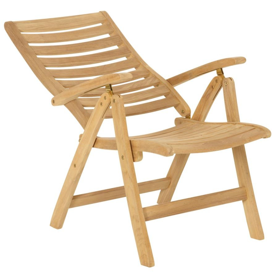 klappstuhl teak hochlehner teakstuhl vivagardea terrassenstuhl gartenstuhl holz ebay. Black Bedroom Furniture Sets. Home Design Ideas