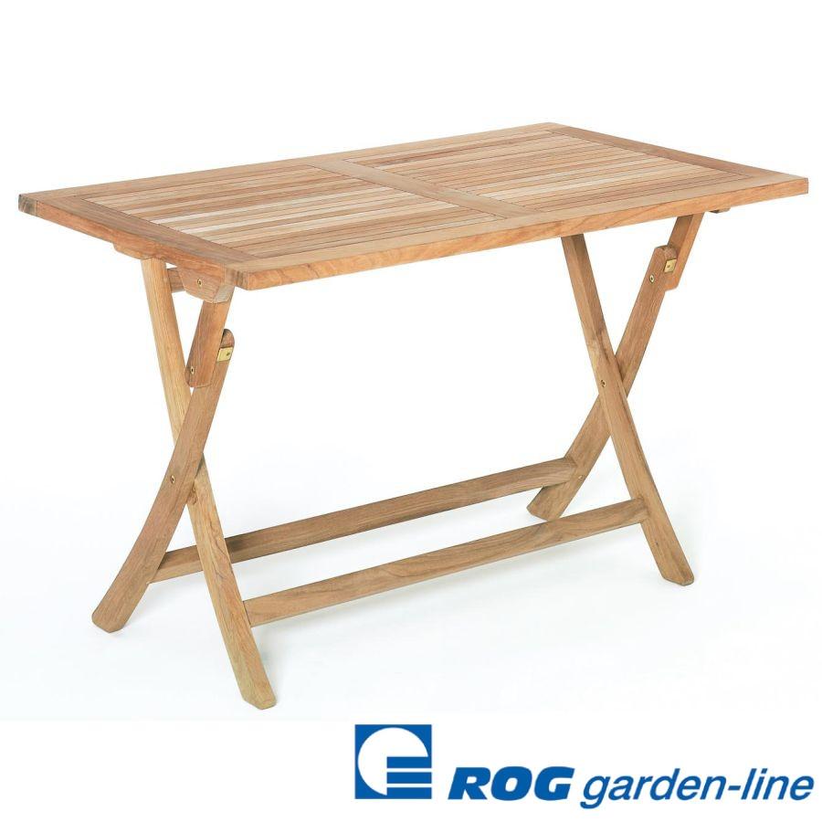 Roggemann Teak Tisch 120x75 Cm Klappbar Klapptisch Gartentisch