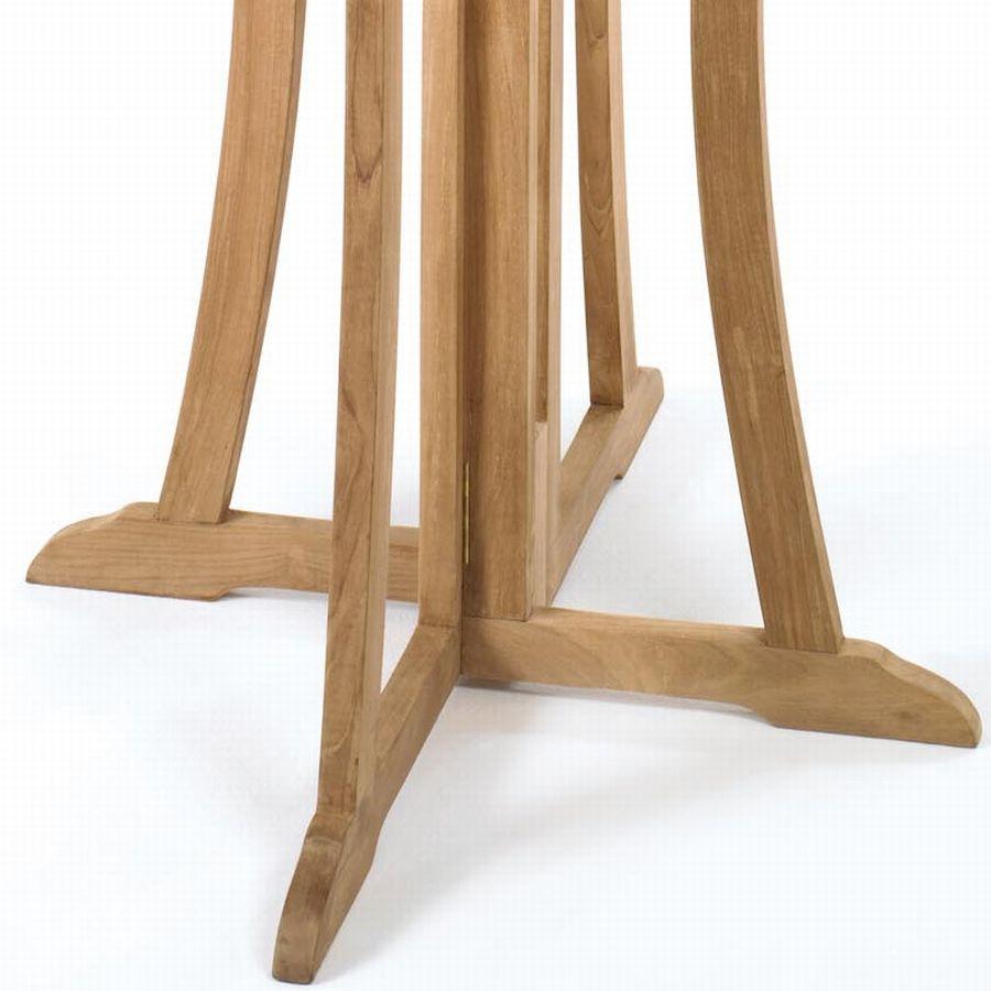 teak a qualit t bar tisch stehtisch bistrotisch klappbar ideal f r gastronomie ebay. Black Bedroom Furniture Sets. Home Design Ideas